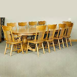 split pedestal table with pressback chair set walnut creek furniture