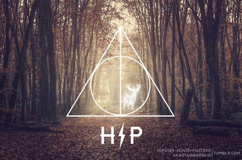 Travis English, Harry Potter (deathly Hipster) Desktop
