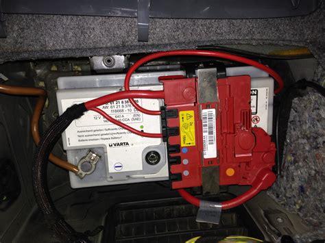 bmw e90 batterie batterie wechseln bmw e90