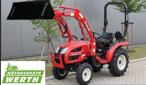 traktor mit frontlader kaufen branson 2200 traktor mit frontlader aktion kaufen werth motorger 228 te