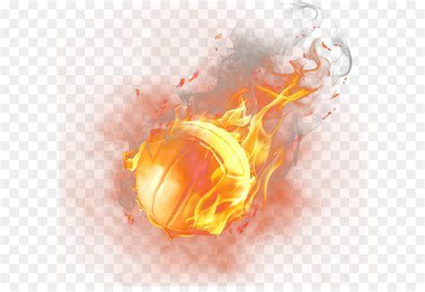 light basketball fire fire basketball png