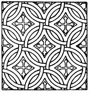 Mosaic Square Pattern | ClipArt ETC