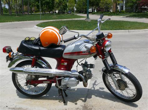 fs  honda cl ann arbor moped army