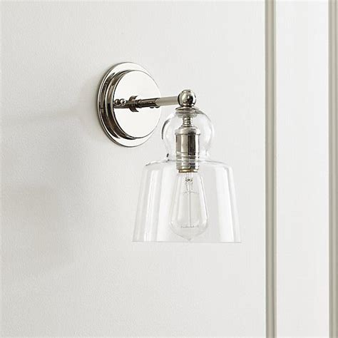 Polished Nickel Bathroom Lighting Fixtures by Lander Polished Nickel Sconce Ny Bathroom Lighting