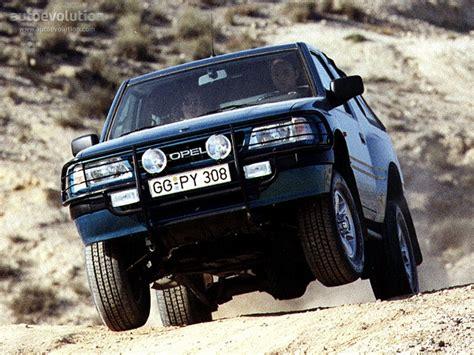 opel frontera 1995 opel frontera sport 1995 1996 1997 1998 autoevolution