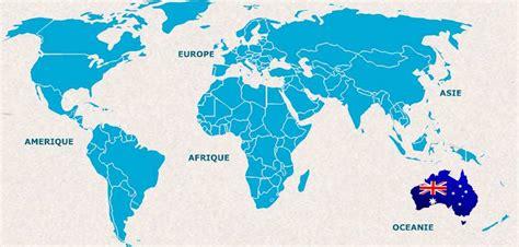 Carte Geographique Du Monde Australie by Infos Sur Carte Du Monde Australie Nouvelle Zelande