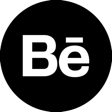 Behance Logo Button Svg Png Icon Free Download (#45478) - OnlineWebFonts.COM