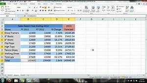 Excel 2013 Tutorial For Noobs Part 11  How To Create A
