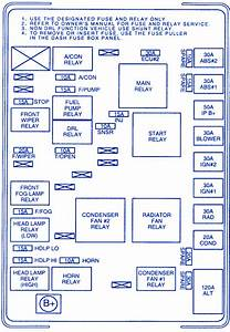 Kia Spectra Rasiator 2009 Fuse Box  Block Circuit Breaker Diagram