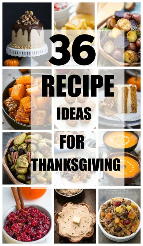 thanksgiving recipe ideas 36 thanksgiving recipe ideas life made sweeter