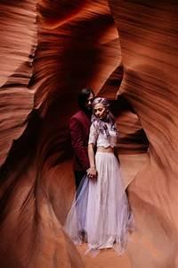 Alternative Antelope Canyon Elopement Junebug Weddings