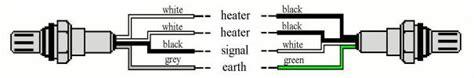 4 Wire O2 Sensor Wiring Diagram by Honda 02 Sensor Wiring Diagram Wiring Schematic Diagram