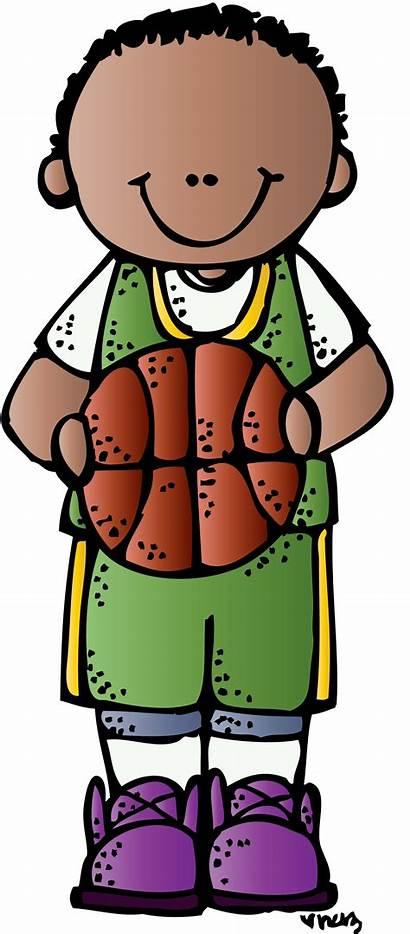 Clipart Basketball Boys Melonheadz Boy Clip Transparent