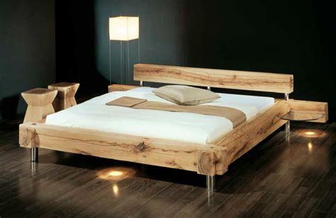 Balkenbett  Sumpfeiche Von Sprenger Möbel