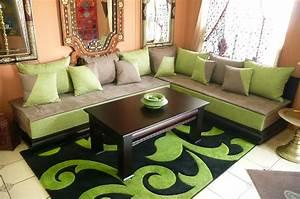 salon marocain moderne paris vente et achat en ligne With tapis champ de fleurs avec modeles de canapes salon