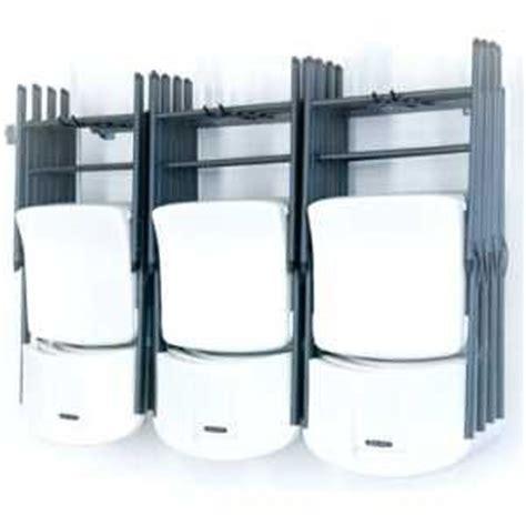 garage organization folding chair storage garage ideas
