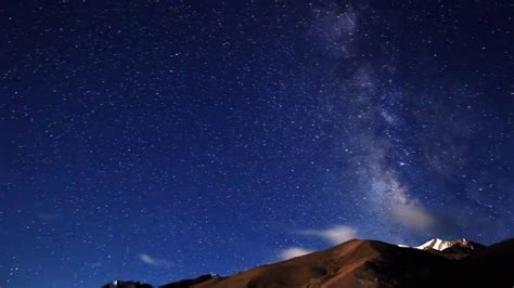Night Sky Full Of Stars Time Lapse Hd Stock Footage Youtube
