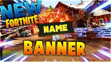 gfx fortnite banner template youtube