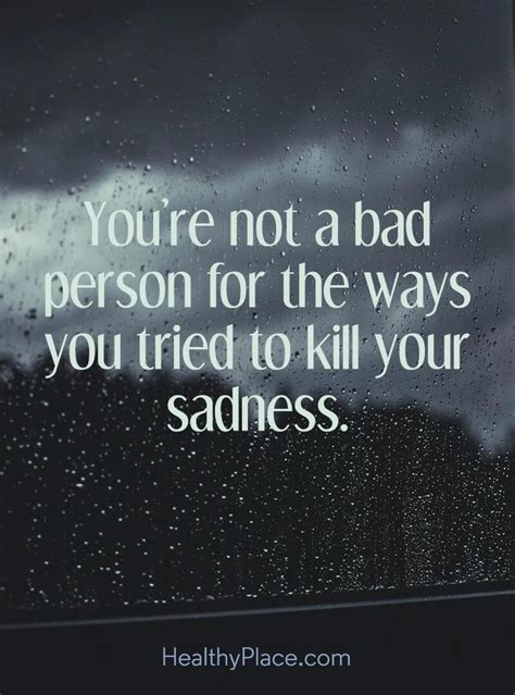painful depression quotes  totally break