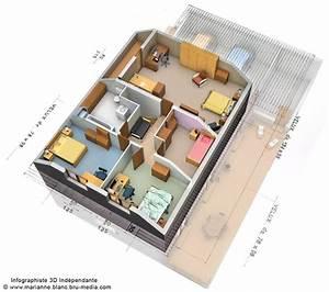 plan 3d maison etage by meryana on deviantart With plan de maison a etage