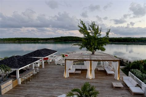 Deck Bahamas Wedding by Planning Island Great Exuma Bahamas Weddings