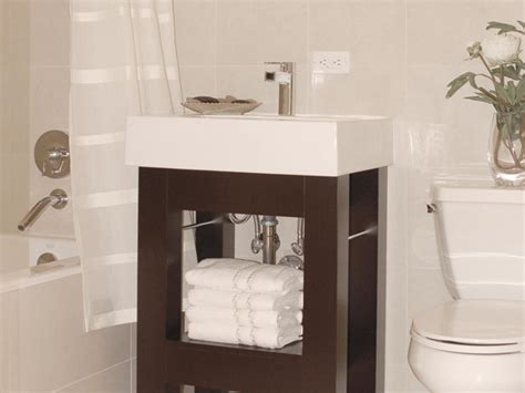 sinks for bathrooms small bathroom vanities hgtv