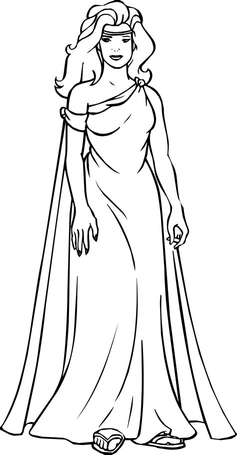 woman coloring pages    print