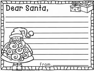 christmas kindness whimsy workshop teaching With dear santa template kindergarten letter