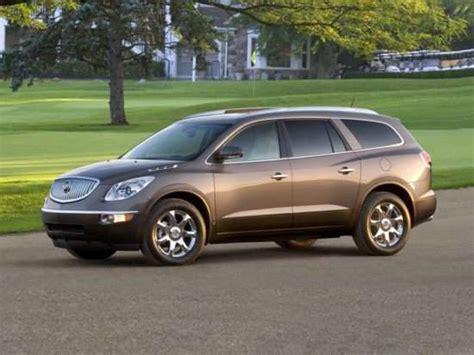 buick enclave models trims information  details