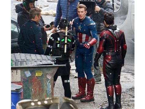 New Avengers Set Photos Which Will Make You Ask Lot