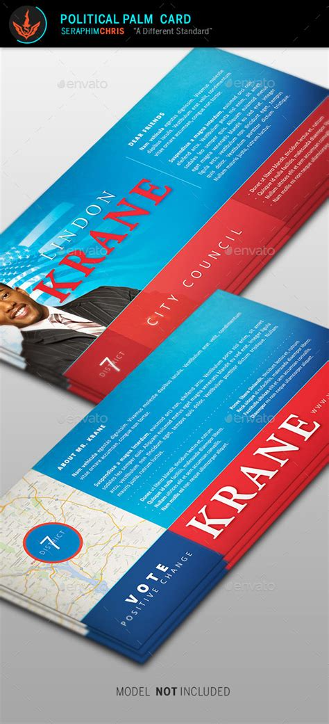 Political Palm Card Template 4 By Seraphimchris  Graphicriver. Wedding Invitations Template Free Download. Proof Of Insurance Template. Media Kit Template Free. University Of Idaho Graduate Programs. Commercial Construction Budget Template. Free Lesson Plan Template Word. Make G4s Security Officer Cover Letter. Wanted Poster Project