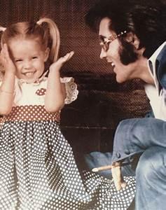 Elvis Presley and daughter Lisa Marie | Humanity | Pinterest