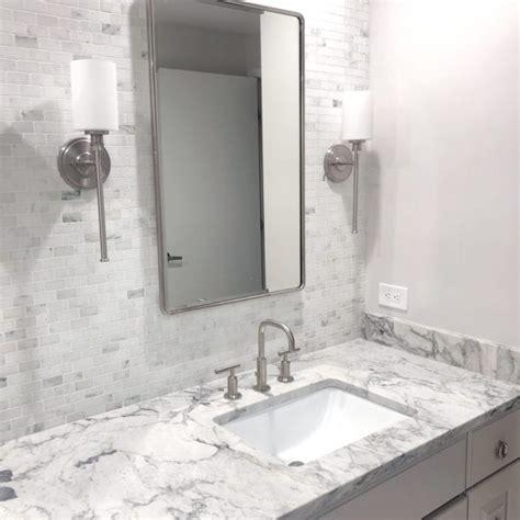 white arabesque counters olympian white mosaic tile