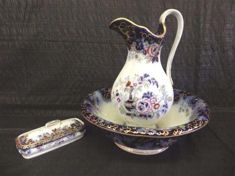 vintage ceramic ls exquisite antique davenport porcelain wash basin 3169