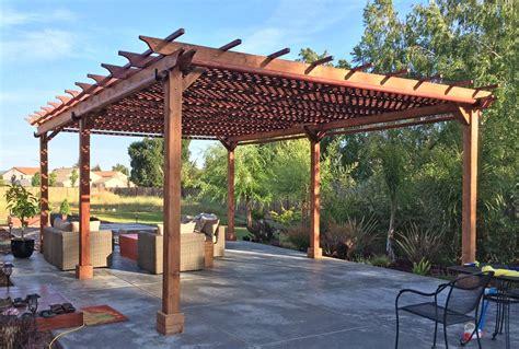 deck shade options garden pergolas