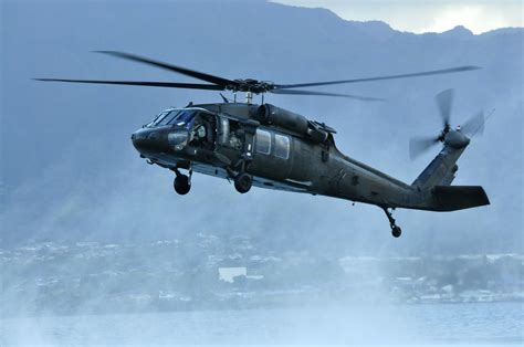 A U.s. Army Uh-60 Black Hawk Helicopter Assigned To