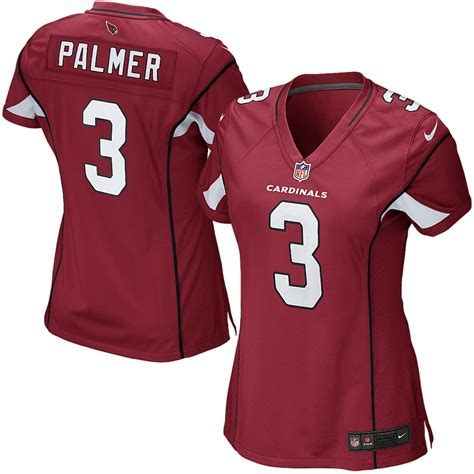 Women's Nike Carson Palmer Cardinal Arizona Cardinals Game ...