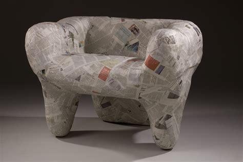 paper mache furniture design by xiaoli dai at coroflot com