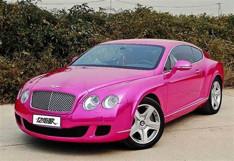 pink bentley pink bentley continental bentley continental