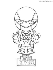 fortnite coloring pages print  colorcom