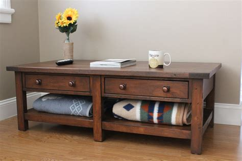 Ana White  Benchwright Coffee Table  Diy Projects