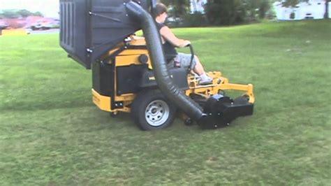 Hustler Super Z Diesel With Pv 18 Lawn Vacuum, Leaf Vacuum