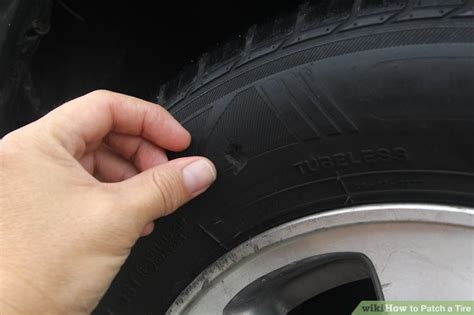 patch  tire  pictures wikihow