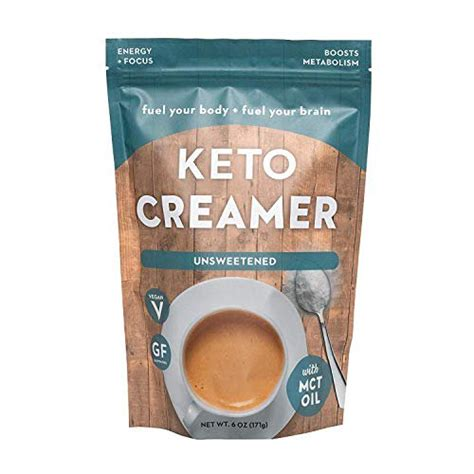 Consume a creamer with anything artificial or synthetic and you run the risk of canceling. 360 Nutrition KETO Creamer With MCT Oil | Unsweetened | Dairy Free Coffee Creamer Milk ...