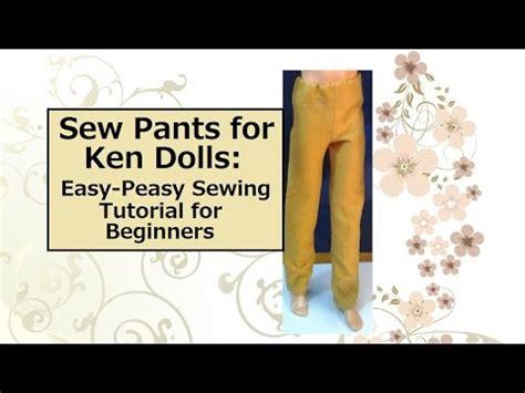 pants  ken dolls  easiest sewing