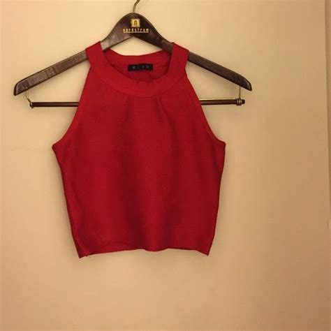 25+ Best Ideas About Red Crop Top On Pinterest