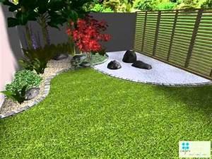 Idée Jardin Zen : idee amenagement jardin zen salon bambou exterieur deco terrasse idees pour une zen et sympa ~ Dallasstarsshop.com Idées de Décoration
