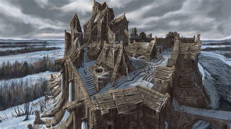 The Elder Scrolls V Skyrim Concept Art 1 Skyrim