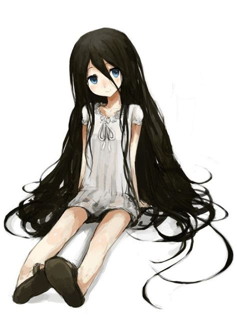 cute anime girls  black hair google search anime