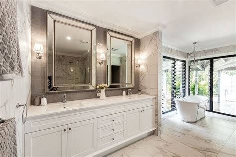 bath and kitchen cabinets htons style ensuite completehome 4336